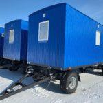 Жилые вагон-дома на шасси для ИТР на 4 человекаЖилые вагон-дома на шасси для ИТР на 4 человека